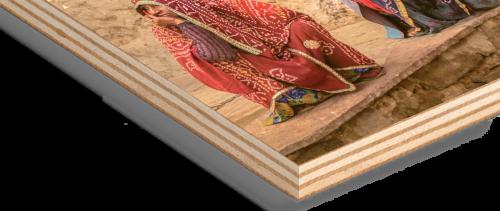 Impression tableau sur bois sans blanc de soutien