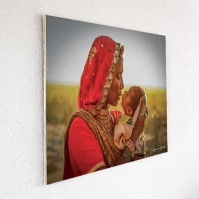 Tableau imprimé sur du bois (60x80cm)