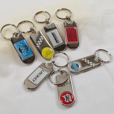 porte clés en métal