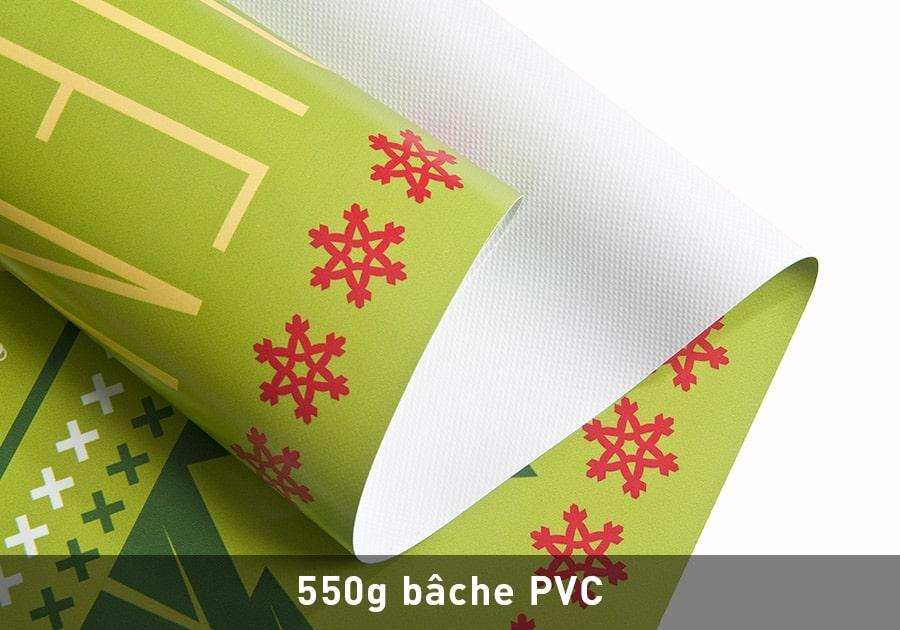 bâche 550g pvc dijon