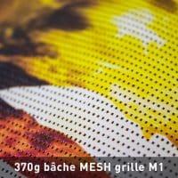 bâche mesh grille M1 370g