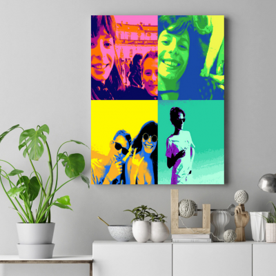 tableau pop art andy warhol