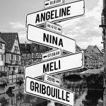 tableau prénoms personnalisé avec fond Annecy