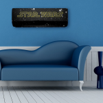 Habillage de climatisation, modèle star wars