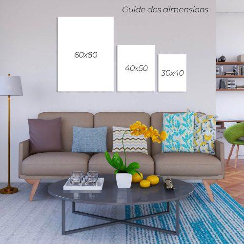 tableau prenoms personnalise guide dimensions